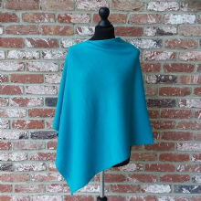 Ashford Supersoft Merino Poncho Lagoon